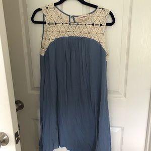 Altar'd State chambray lace dress